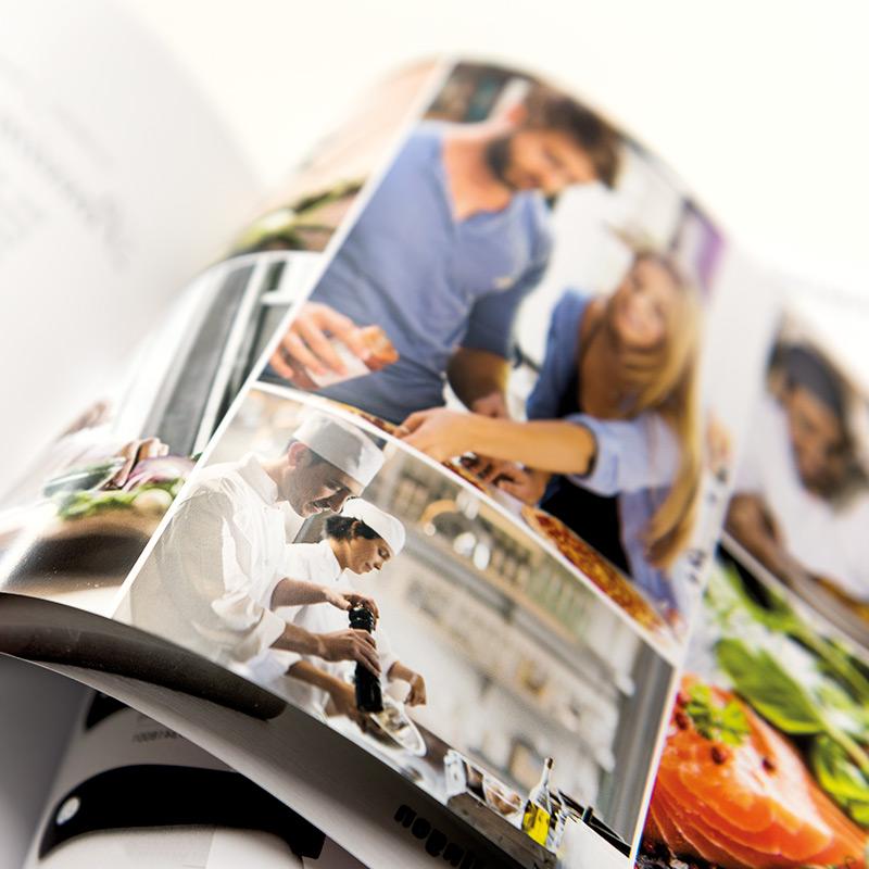 Layouts für Kataloge - Flyer - Imagebroschüren