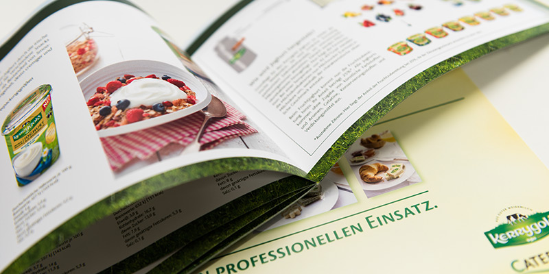 In unserer Solinger Werbeagentur gestalten wir auch solche Image-Broschüren