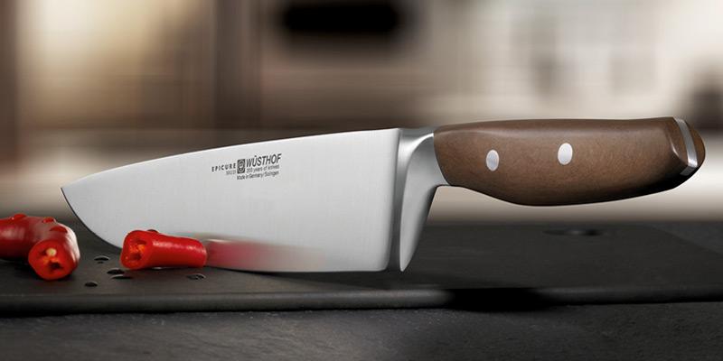 Unsere Werbeagentur in Solingen liefert solche starken Messerfotos